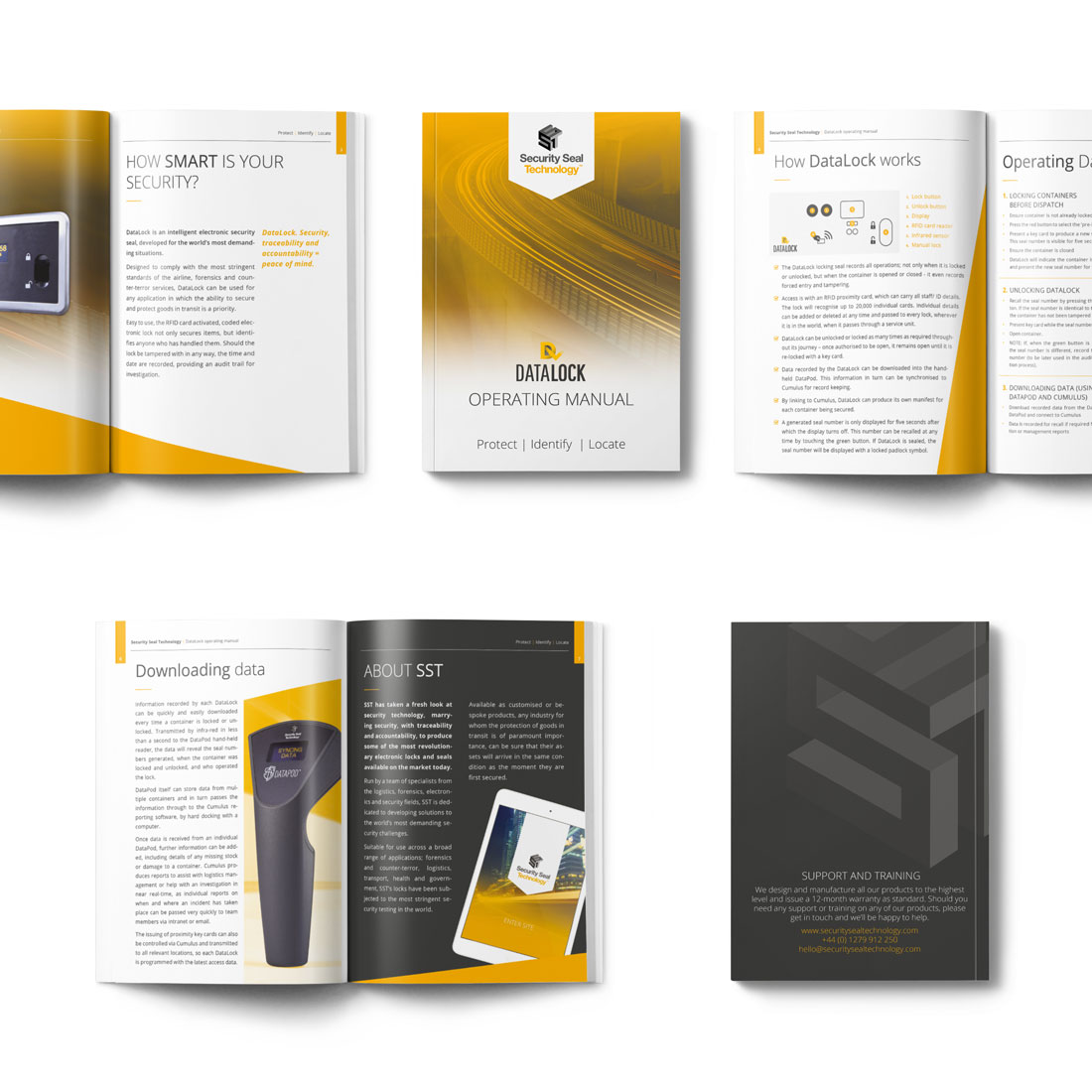 Datalock branding Elbowroom Graphics