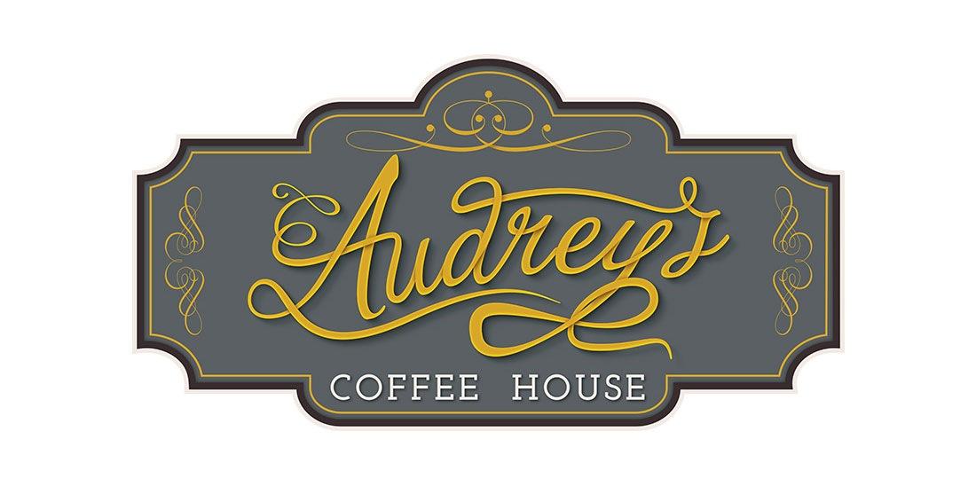 Audrey's Coffee House Elbowroom Graphics