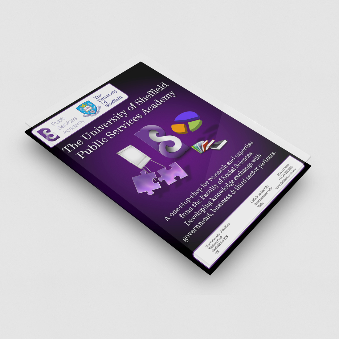 Sheffield University Branding Elbowroom Graphics