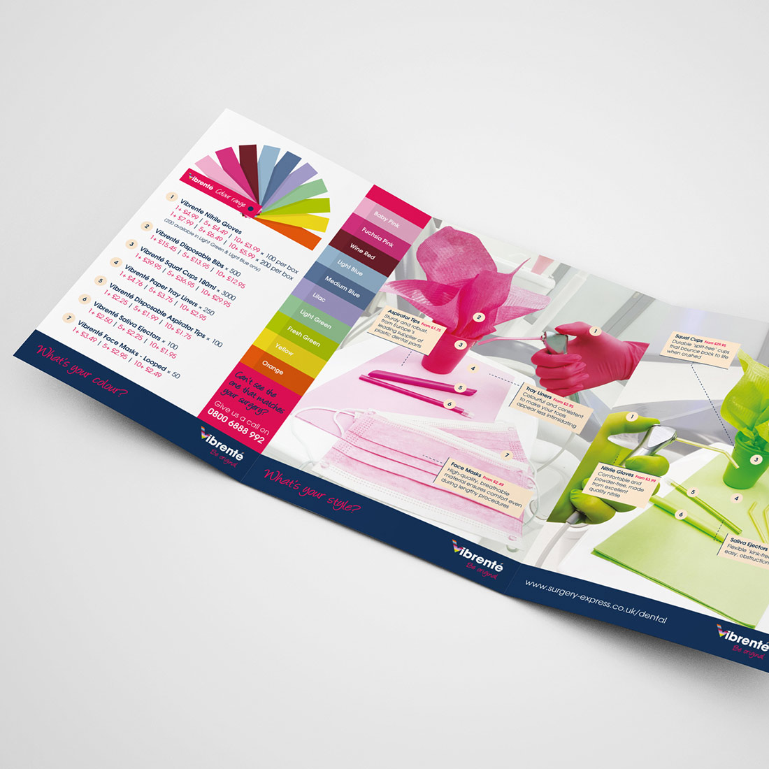 Dental Express Mailer Elbowroom Graphics