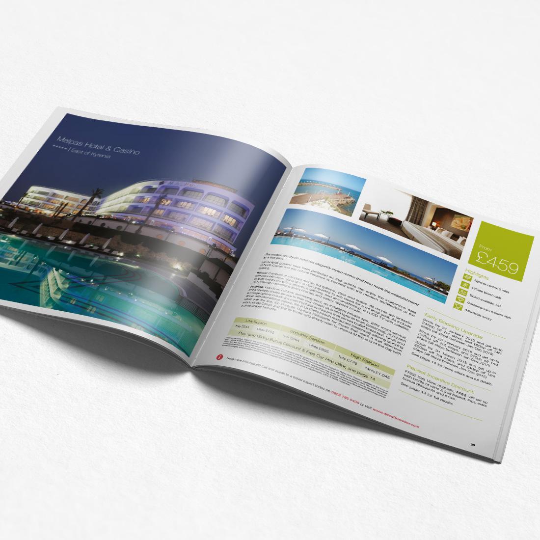 Direct Traveller Annual Brochures Elbowroom Graphics