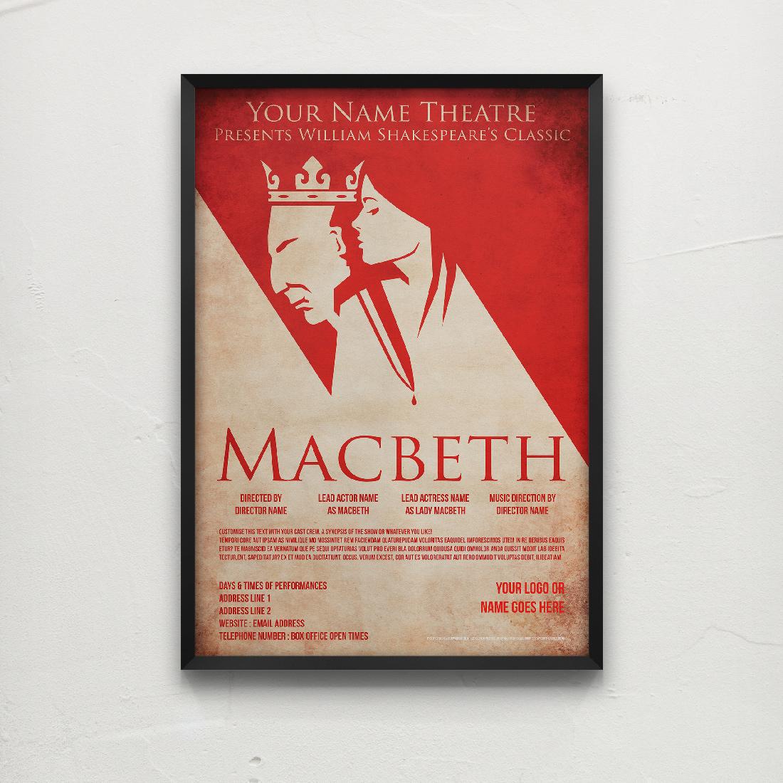 Theatre Posters Elbowroom Graphics