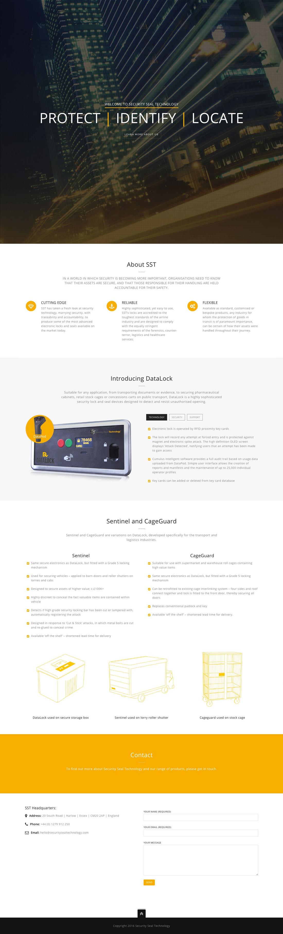 Datalock branding Elbowroom Graphics