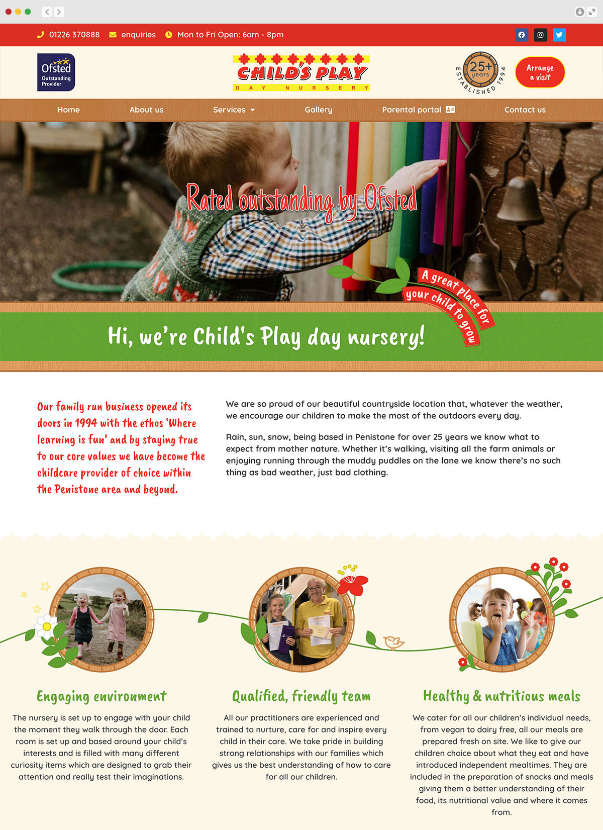 Childs Play Day Nursery Elbowroom Graphics