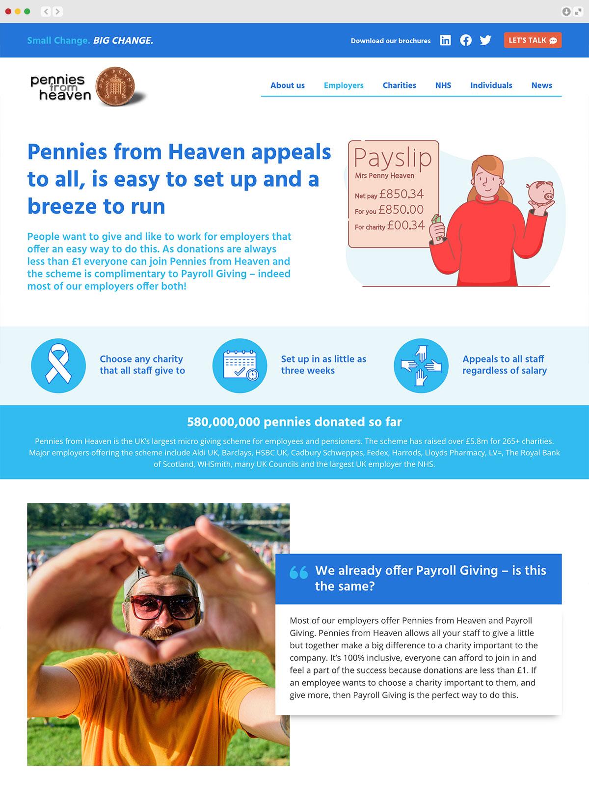 Pennies from Heaven Elbowroom Graphics